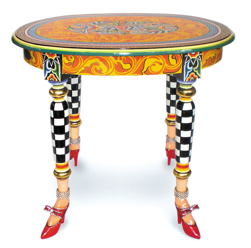 TABLE D'APPOINT VERSAILLES OVALE