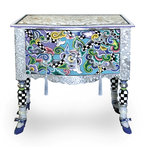 COMMODE TIROIRS VERSAILLES M SILVER LINE